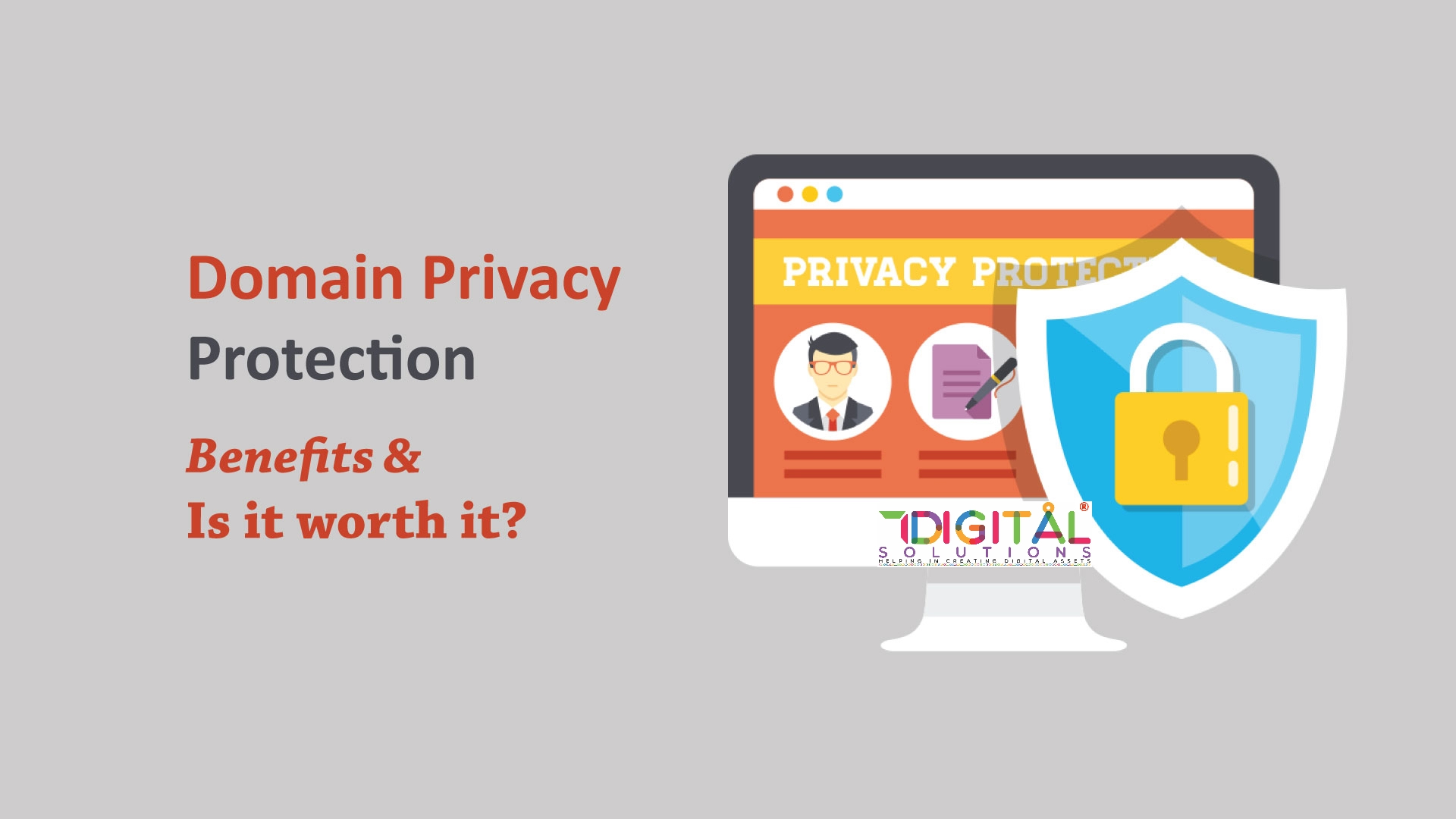 Doman Privacy - Whois ID Protect Service by 7DS